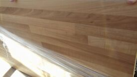 Laminate walnut block work top