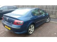 Peugeot 407 diesel automatic 2006 mot July