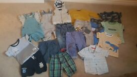 Baby boys clothes bundle size 12-18 months