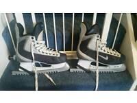 Nike ice hockey skates in good cindition uk size 10.5