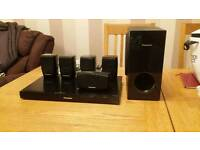 Panasonic surround sound home cinema system