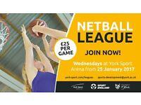 York Sport Netball Legaues