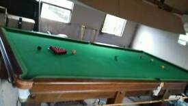 Full size Snooker Table with All accessories