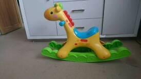 Rocking toy (giraffe)