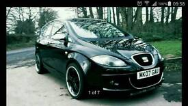Seat Toledo full service history book 2.0 tdi 6 speeds manual,07 plate,SPORT body kit,leather seats