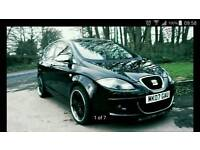 Seat Toledo 2.0 tdi 6 speeds,SPORT body kit,leather seats,not( audi golf leon ford cooper fiesta )