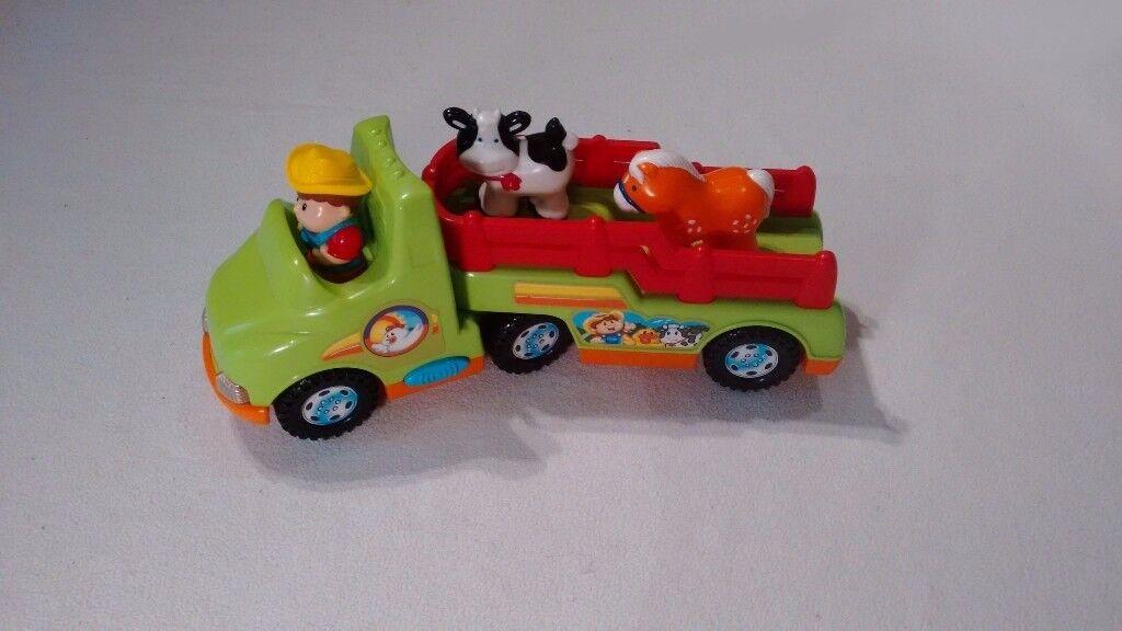 Farm truck- includes 3 figures.