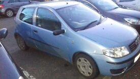 04 Fiat Punto 1.3 multijet spares/repair