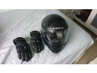 Motorbike bundle. Jacket, 2 Trousers, Helmet, Gloves, Shoes. £50 all