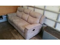 Leather sofa ( real leather )