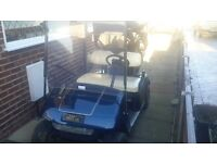 EZ-GO Electric 36V Golf Buggie. Excellent condition. Drive on trailer available at additional cost.