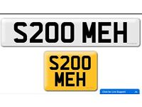 S200 MEH private cherished personalised personal registration plate number Honda S2000 mechanics