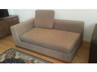 Sofa, Desk, filing cabinet, mattress, rug