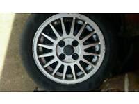 Classic audi 80 b2 4x100 volkswagen golf wheels