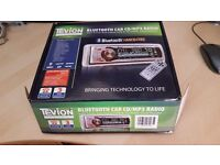 Bluetooth Hands Free Car CD/MP3 Radio. Brand new still in original box . Sold car it was going in.