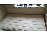Day bed and hardly used mattress