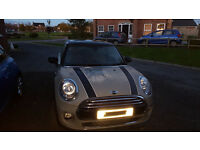 MINI COOPER 1.5 APRIL 2015 3 DOOR MOONWALK GREY