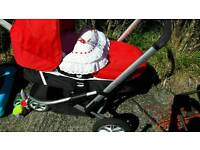 Excellent condition pram buggy .