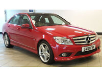 2010 MERCEDES-BENZ C CLASS 3.0 C350 CDI BLUEEFFICIENCY SPORT AUTO*PART EX WELCOME*FINANCE AVAILABLE*