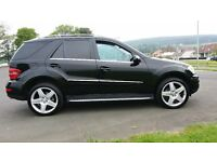 2008 58 REG MERCEDES ML 280 CDI SPORT 4MATIC 7G TRONIC AUTO GENUINE 63000 MILES FROM NEW