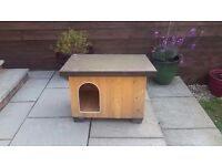 Ferplast Outdoor small wooden dog kennel (offers considered)