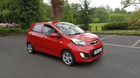 2014 Kia Picanto, 12 Month MOT, Excellent Little Car