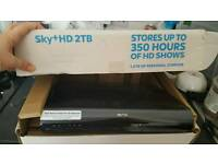 sky hd plus box with 2tb storage