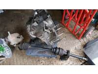 Vauxhall f23 gearbox with shafts