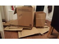 Various sizes 30x Double wall cardboard boxes