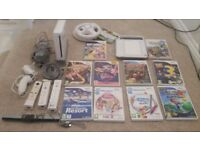 Nintendo Wii plus 11 games and accessories £35 ono