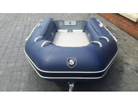 Inflatable tender for sale - Excel Volante SD260 – New and unused - £680