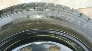 17 inch Altimax Arctic General winter tires with rims