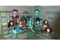 Bundle monster high dolls