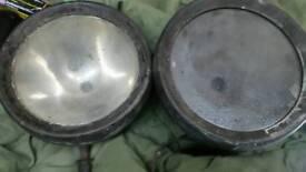 Vintage lucas head lights