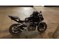Kawasaki Z750., Black Naked, Year: 2004, ABS, 18191 miles, Black, 5+ owners, £2,200