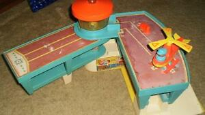 Fisher Price airport , Vintage Radio musical box London Ontario image 1