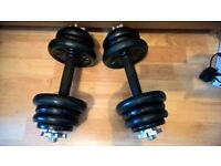 Cast Iron dumbbells,