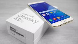 SAMSUNG GALAXY A9 2016 64GB BRAND NEW SEAL BOX WARRANTY & SHOP RECEIPT