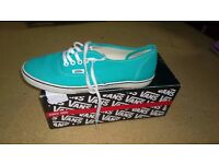 Vans shoes. Size 4.5.