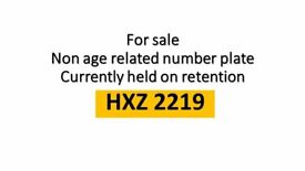 Non age relatd number on retention HXZ 2219