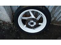Honda CBR400 rear wheel