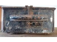 Metal military container