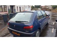 Peugeot 306 for sale MOT until July. Good runner £200 ono