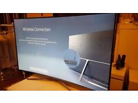 "SAMSUNG UE55K6300 Smart Ultra HD HDR 6 SERIES 55"" Curved LED TV"