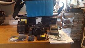 Nikon d3200 19-55 vr kit