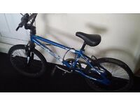 "MUDDYFOX CHAOS BMX 20 INCH BIKE CYCLE BLUE BOYS GYRO 20"" BICYCLE"