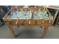 Table Football Foosball + Pool table + Balls & Cue