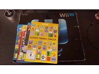 Nintendo Wii U 32GB with 4 games