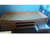 Kids cabin bed - beech