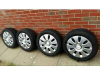 Audi A3/A4 205/55/R16 aloy wheels and tyres